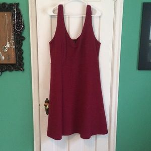 Raspberry Colored Dress